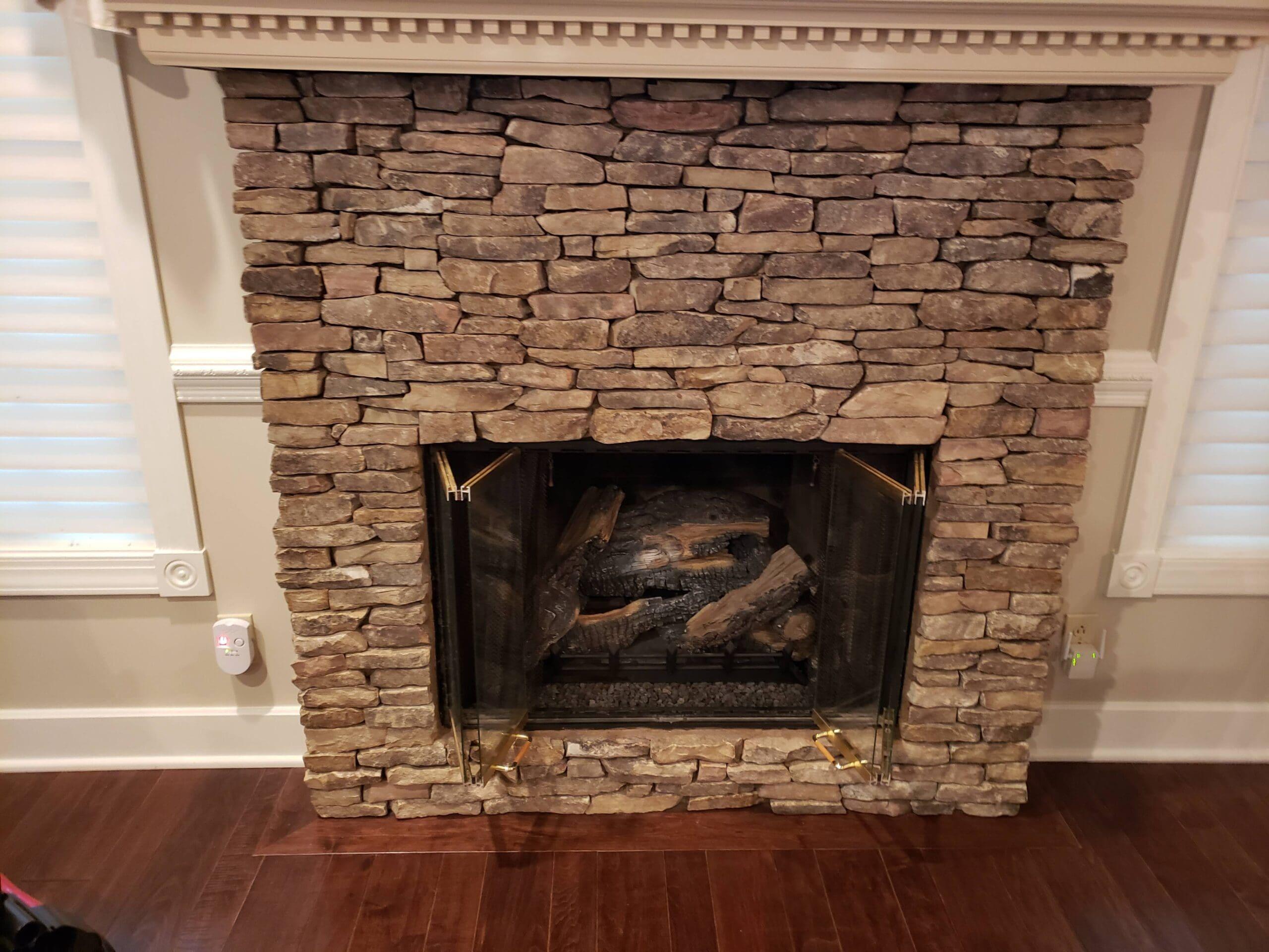 Prior Ventless Fireplace