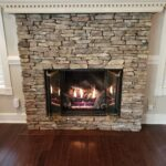 New Monessen GlowGetter Ventless Fireplace with Charisma Log Set