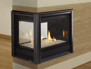 Heat&Glo Pier Model Direct Vent Gas Fireplace